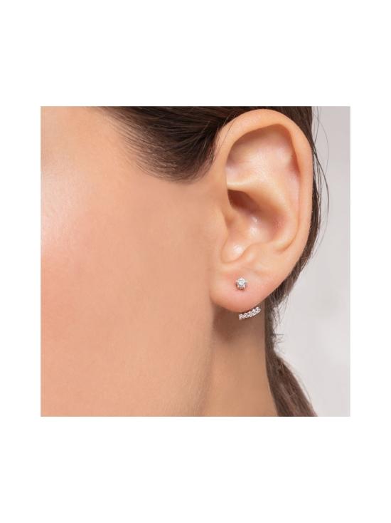 Thomas Sabo - Thomas Sabo Single Ear Stud White Stones Silver -korvakoru | Stockmann - photo 3