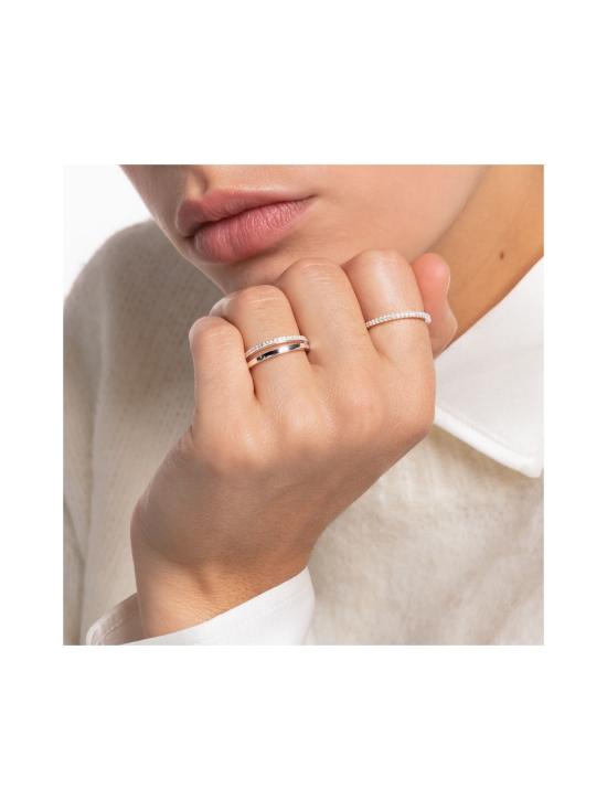 Thomas Sabo - Thomas Sabo Ring double white stones silver -sormus   Stockmann - photo 2