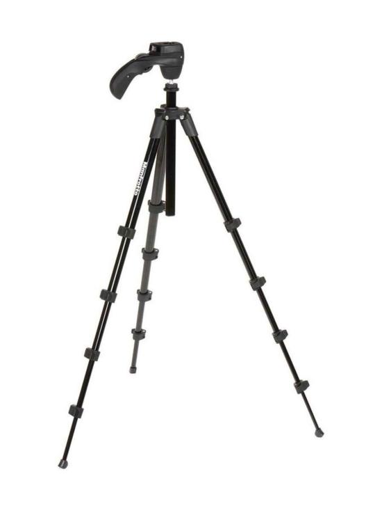 Manfrotto - Manfrotto Compact Action jalusta + kamerapää - Punainen | Stockmann - photo 2