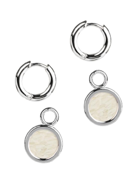 Viona Blu - Sisters Earrings, vaalea/hopea - VAALEA/HOPEA   Stockmann - photo 2