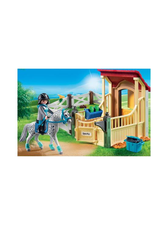 Playmobil - PLAYMOBIL COUNTRY Hevostalli ja appaloosahevonen - null | Stockmann - photo 3