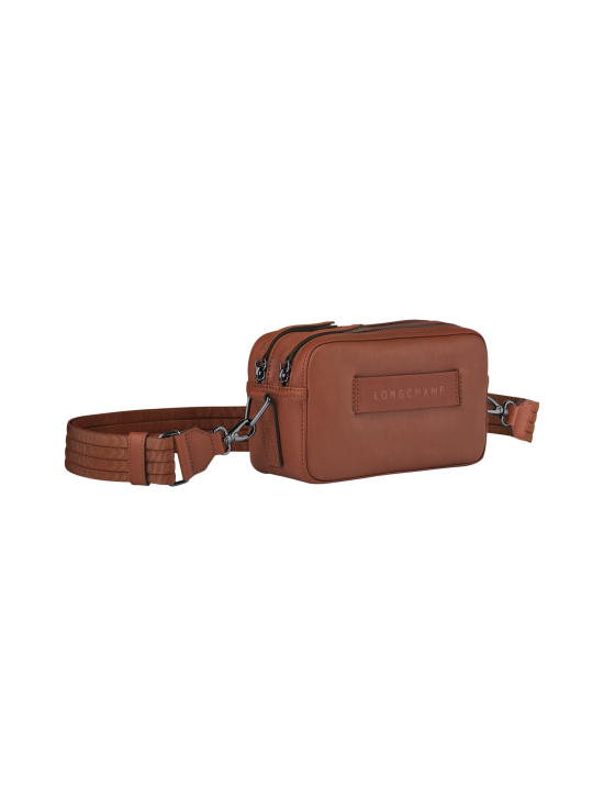 Longchamp - Longchamp 3D - Crossbody Bag - Nahkalaukku - COGNAC | Stockmann - photo 2