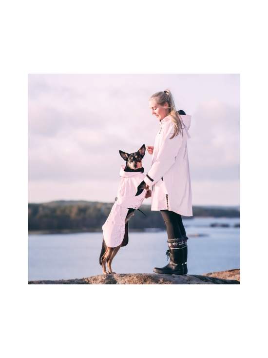 PAIKKA - Visibility Raincoat Lite Pink for Dogs - 4 | Stockmann - photo 9