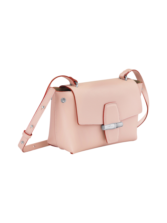 Longchamp - Roseau Box Crossbody Bag - Nahkalaukku - POWDER | Stockmann - photo 3
