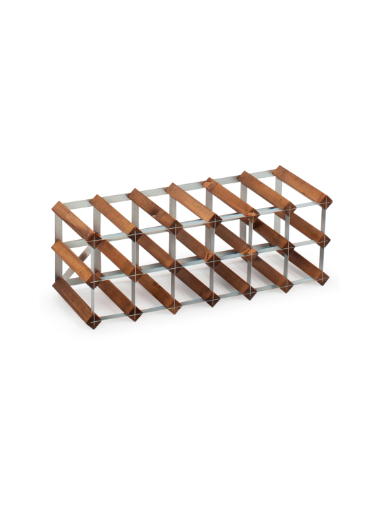 Traditional Wine Rack - Viinipulloteline 18 pulloa Dark Oak - null | Stockmann - photo 1