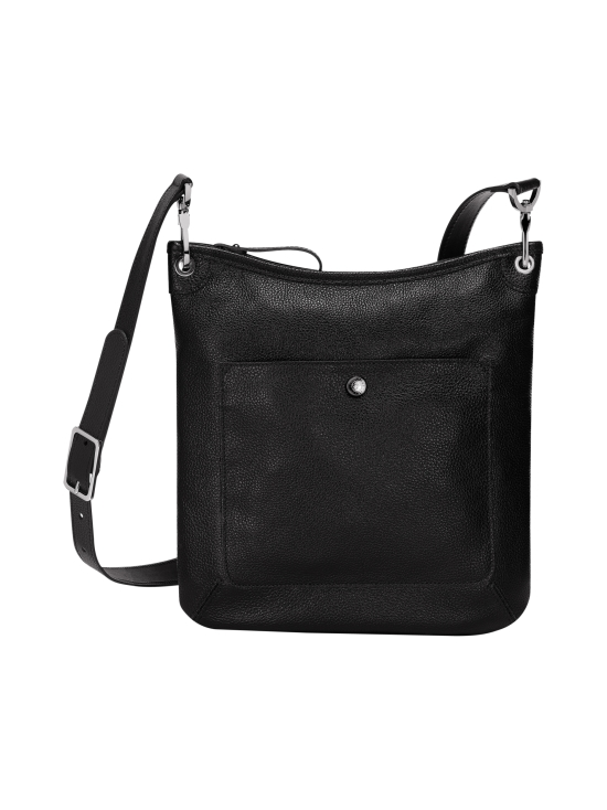 Longchamp - Le Foulonné Crossbody Bag - Nahkalaukku - BLACK | Stockmann - photo 1