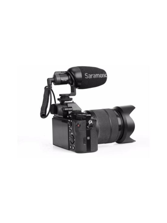 Saramonic - Saramonic Vmic Mini mikrofoni kameroille ja älypuhelimille   Stockmann - photo 2