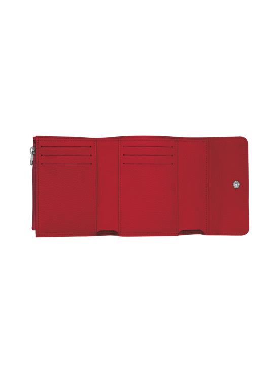 Longchamp - Le Foulonné – Compact Wallet – Nahkalompakko - RED   Stockmann - photo 2