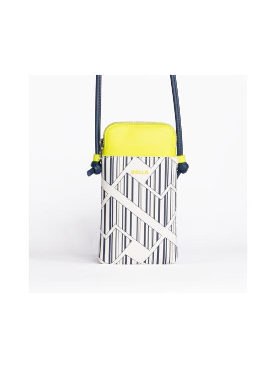 Golla - Mini Phone Bag - YELLOW, BLUE & WHITE   Stockmann - photo 1