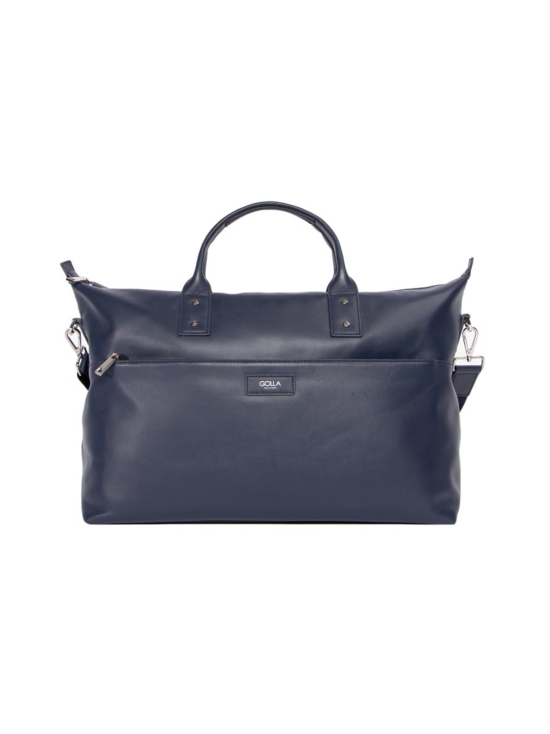 Golla - Alfa nahka weekender -laukku - NAVY (TUMMANSININEN) | Stockmann - photo 1