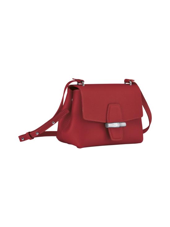 Longchamp - Roseau - Crossbody bag S - Nahkalaukku - RED | Stockmann - photo 3