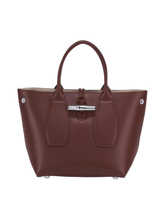 Longchamp - Roseau Box - Cube Bag - Nahkalaukku - MAHOGANY | Stockmann - photo 2
