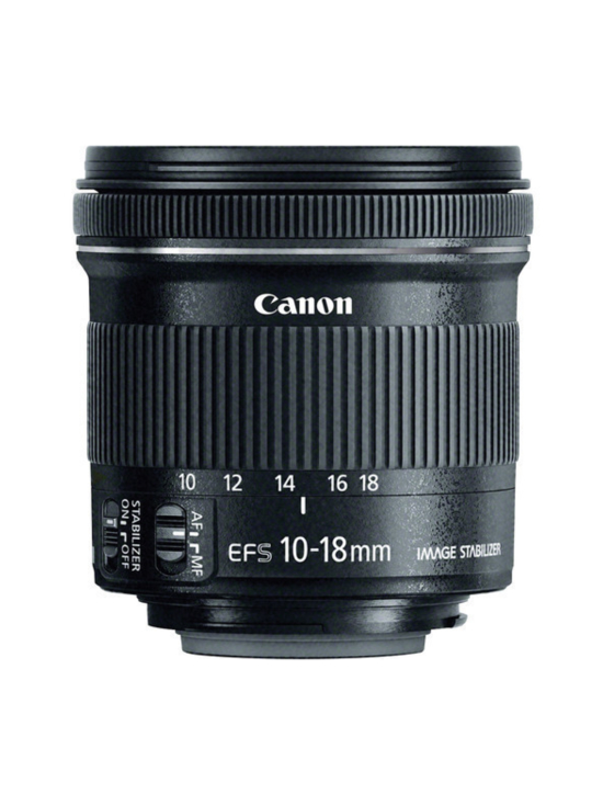 Canon - Canon EF-S 10-18mm f/4.5-5.6 IS STM - null | Stockmann - photo 1