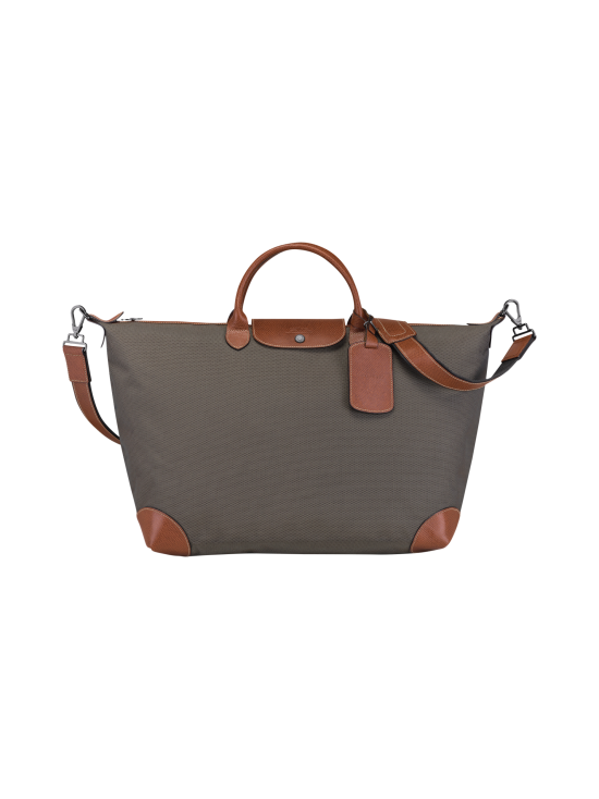 Longchamp - Boxford Travel bag L - Matkakassi - BROWN | Stockmann - photo 1