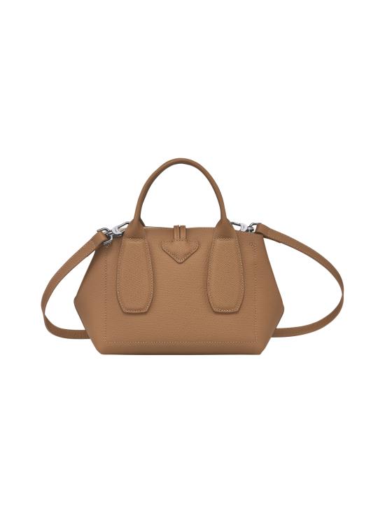 Longchamp - Roseau - Top handle bag S - Nahkalaukku - NATURAL | Stockmann - photo 4