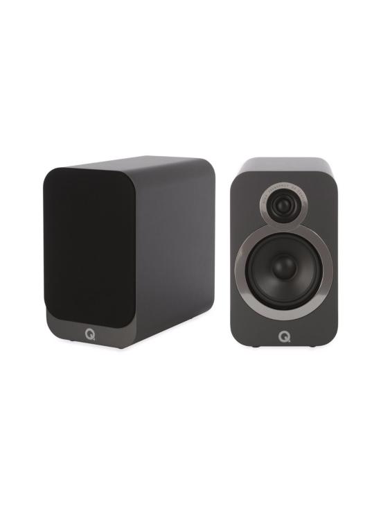 Q Acoustics - Q Acoustics Q3020i hyllykaiutin, harmaa | Stockmann - photo 1