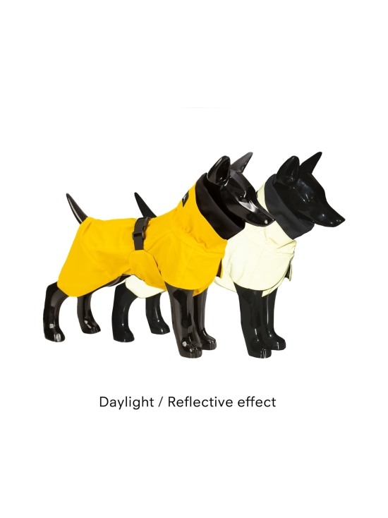 PAIKKA - Visibility Raincoat Lite Yellow for Dogs - 6   Stockmann - photo 4