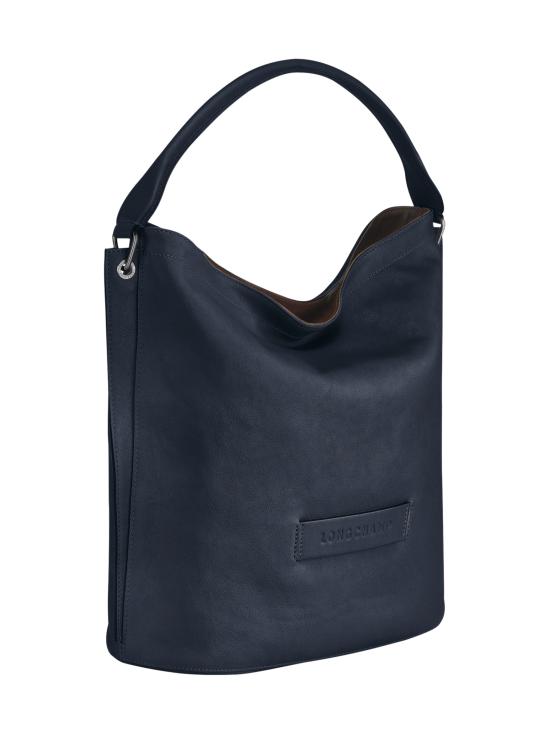 Longchamp - Longchamp 3D Hobo Bag - Nahkalaukku - MIDNIGHT BLUE | Stockmann - photo 2