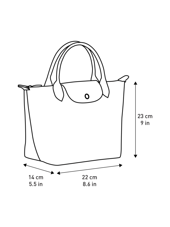 Longchamp - Le Pliage Top Handle S -Laukku - RED | Stockmann - photo 5