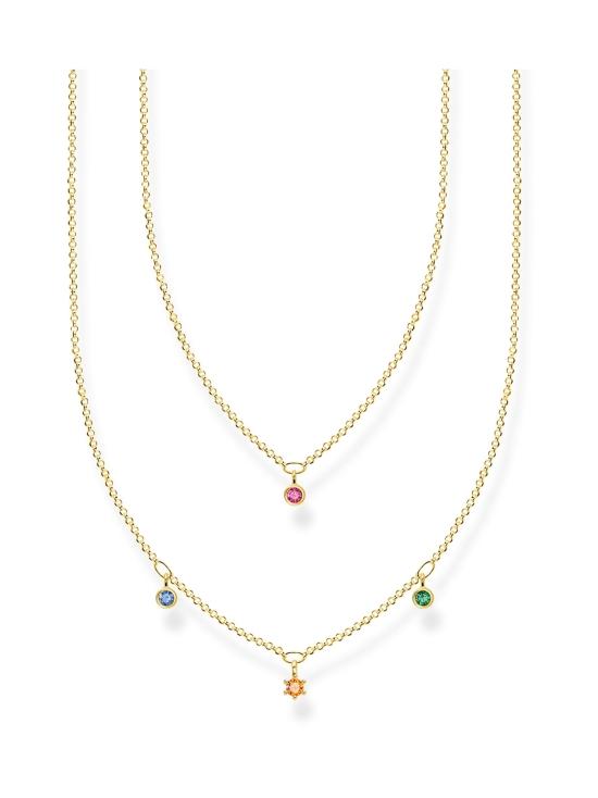 Thomas Sabo - Thomas Sabo Double Coloured Stones Gold -kaulakoru   Stockmann - photo 1
