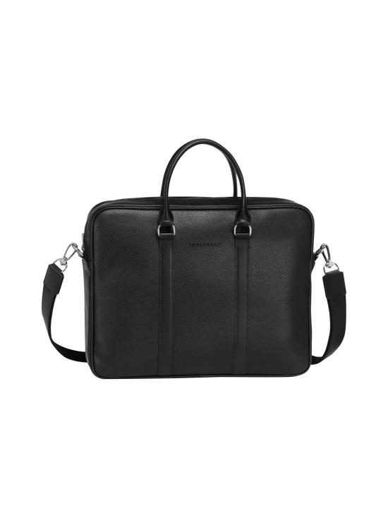 Longchamp - Le Foulonné - Briefcase S - Salkku - BLACK   Stockmann - photo 1