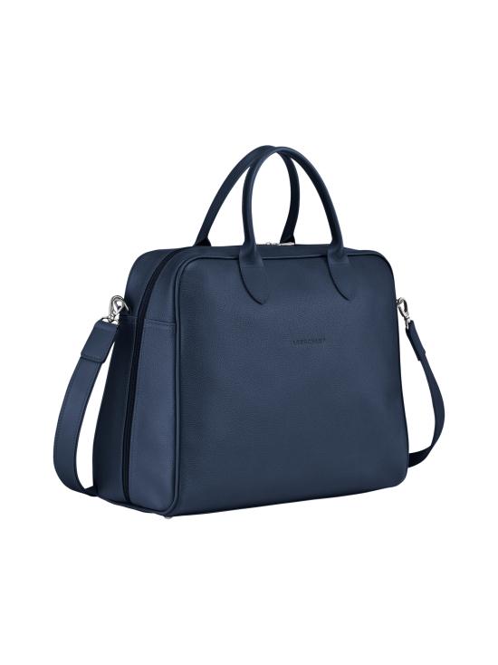 Longchamp - Le Foulonné - Briefcase L - Salkku - NAVY | Stockmann - photo 2