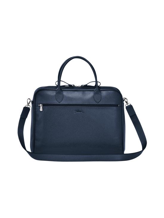 Longchamp - Le Foulonné - Briefcase M - Salkku - NAVY | Stockmann - photo 3