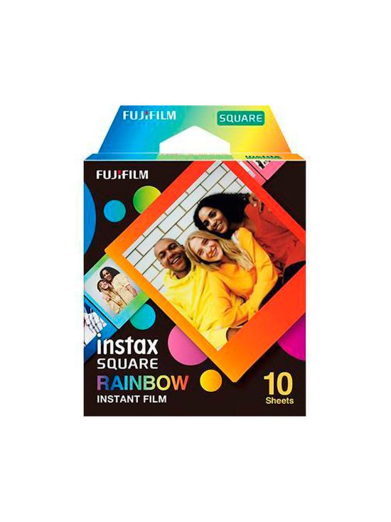 Fujifilm - Fujifilm Instax Film Square (10 kuvaa) pikafilmi - Rainbow   Stockmann - photo 1