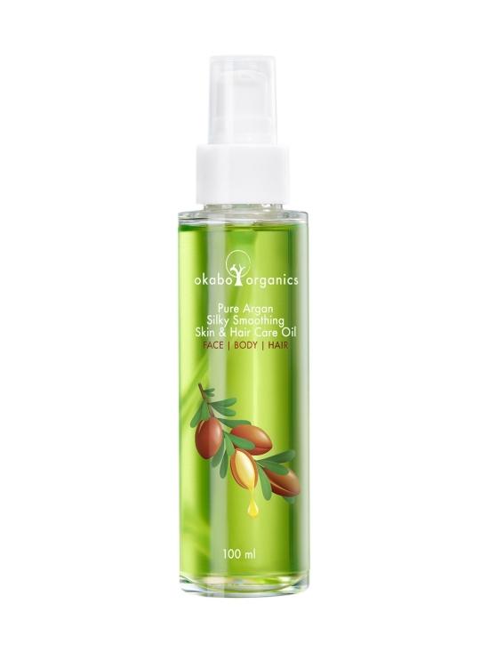 Okabo Organics - 100% Puhdas Arganöljy kasvoille, vartalolle ja hiuksille, 100ml   Stockmann - photo 1
