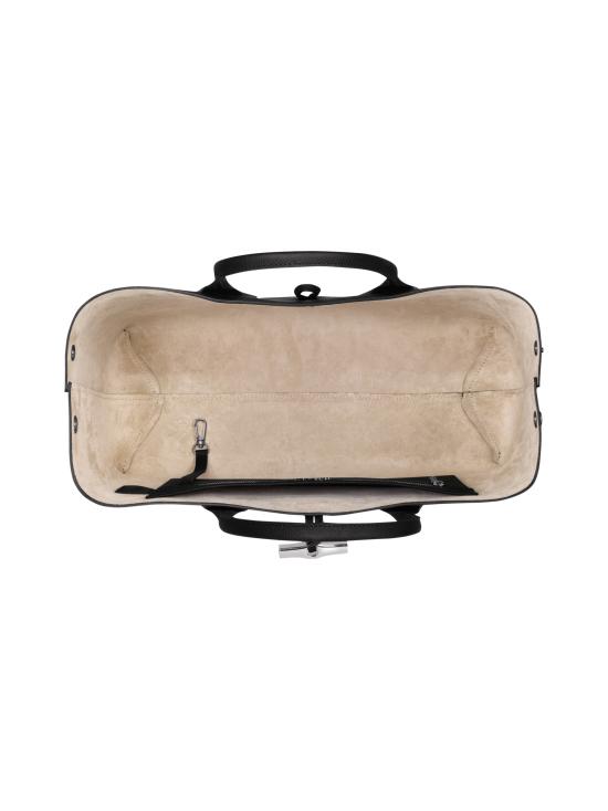Longchamp - Roseau Top Handle Bag L - Nahkalaukku - BLACK | Stockmann - photo 5