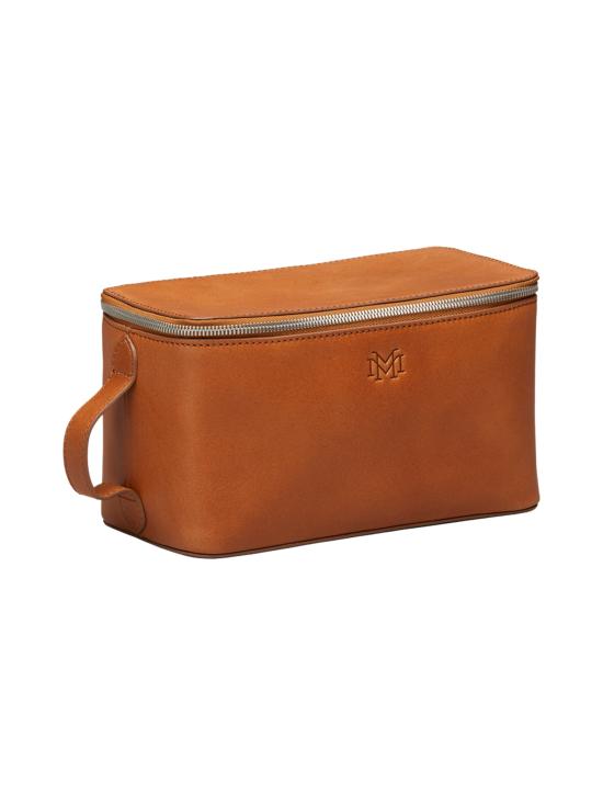 MMV Bags - Luton Leather Washbag -toilettilaukku - COGNAC (KONJAKINRUSKEA) | Stockmann - photo 2
