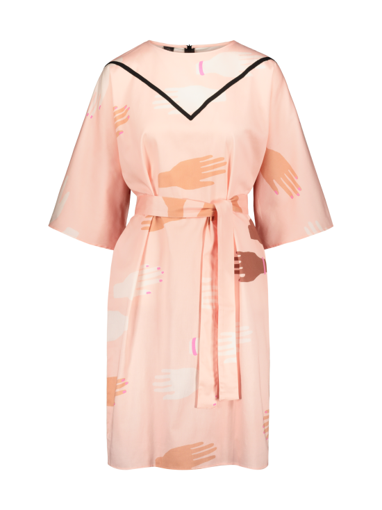 YO ZEN - Naisten kimono-mekko, Hug - VAALEANPUNAINEN | Stockmann - photo 1