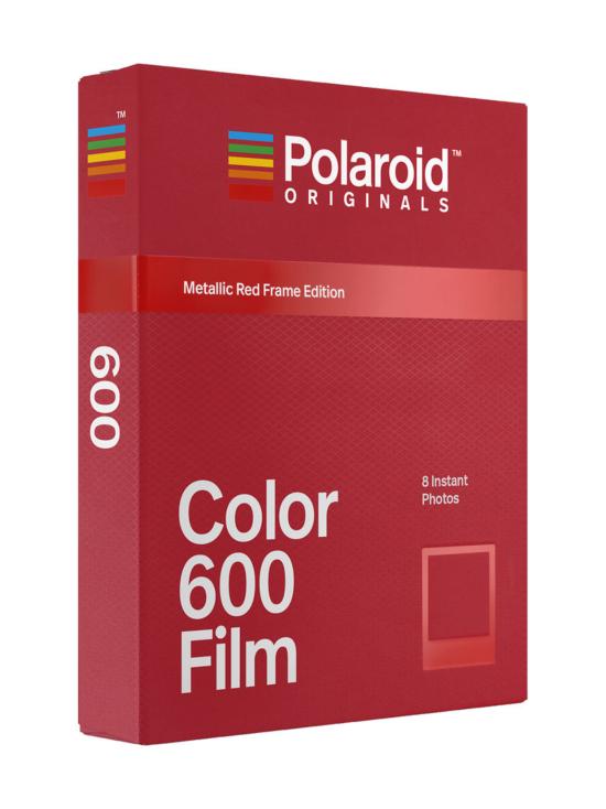 Polaroid Originals - Polaroid Originals 600 Color pikafilmi (Metallic Red Frame Edition) - null   Stockmann - photo 1