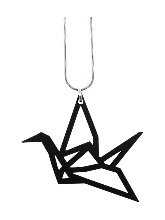 YO ZEN - Origami Swan -kaulakoru, musta - MUSTA | Stockmann - photo 1