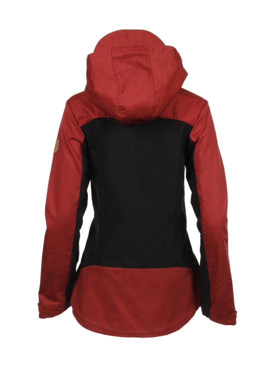 Ivalo - JUVA Naisten outdoor takki - RED/BLACK | Stockmann - photo 3