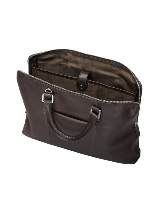 MMV Bags - Luton Briefcase -nahkasalkku - CHOCOLATE (TUMMANRUSKEA) | Stockmann - photo 5