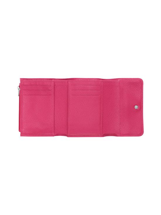Longchamp - Le Foulonné – Compact Wallet – Nahkalompakko - PINK | Stockmann - photo 2
