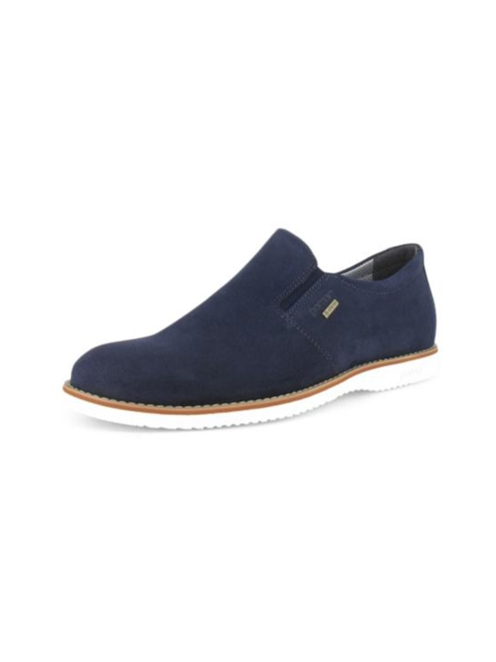 Pomar - KUOVI Miesten GORE-TEX loaferit - OCEAN SUEDE/ WHITE SOLE | Stockmann - photo 9
