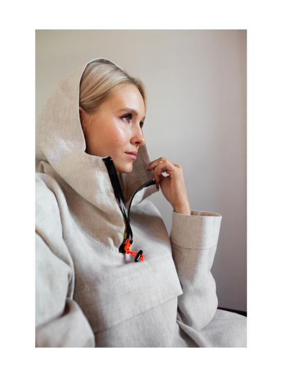MIAM Clothing - Pellava Anorakki - NATURAL | Stockmann - photo 2