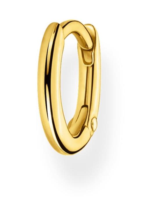 Thomas Sabo - Thomas Sabo Single Hoop Earring Classic Gold -korvakoru   Stockmann - photo 1