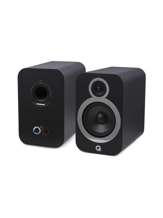 Q Acoustics - Q Acoustics Q3030i hyllykaiutin, musta - null   Stockmann - photo 1