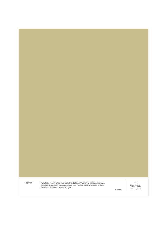 Cover Story - Sävymalli 030 VIRGINIA - straw green   Stockmann - photo 1