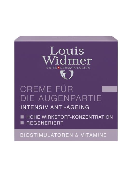 Louis Widmer - Louis Widmer Eye contour cream - silmänympärysvoide, hajustettu 30 ml | Stockmann - photo 2