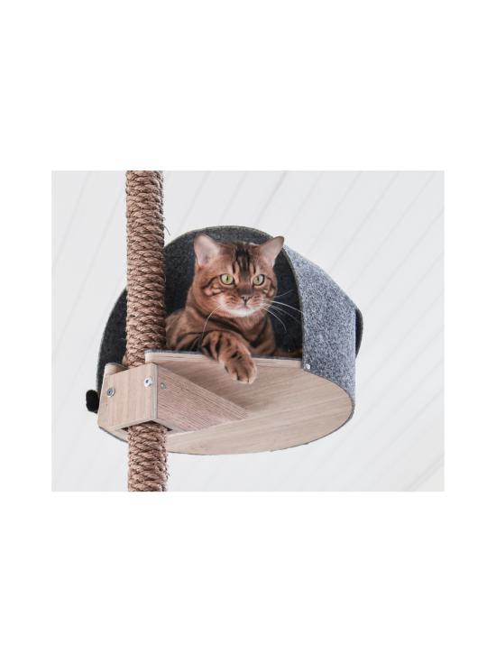 Kissapuu - Kissan Unelma kiipeily- ja raapimispuu, koivu & harmaa | Stockmann - photo 10