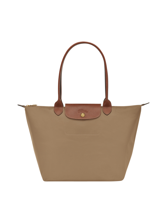 Longchamp - Le Pliage Shoulder Bag L - Laukku - DESERT | Stockmann - photo 1