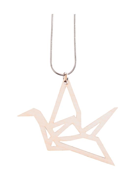 YO ZEN - Origami Swan -kaulakoru, koivu - BEIGE | Stockmann - photo 1