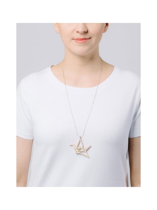 YO ZEN - Origami Swan -kaulakoru, koivu - BEIGE | Stockmann - photo 2