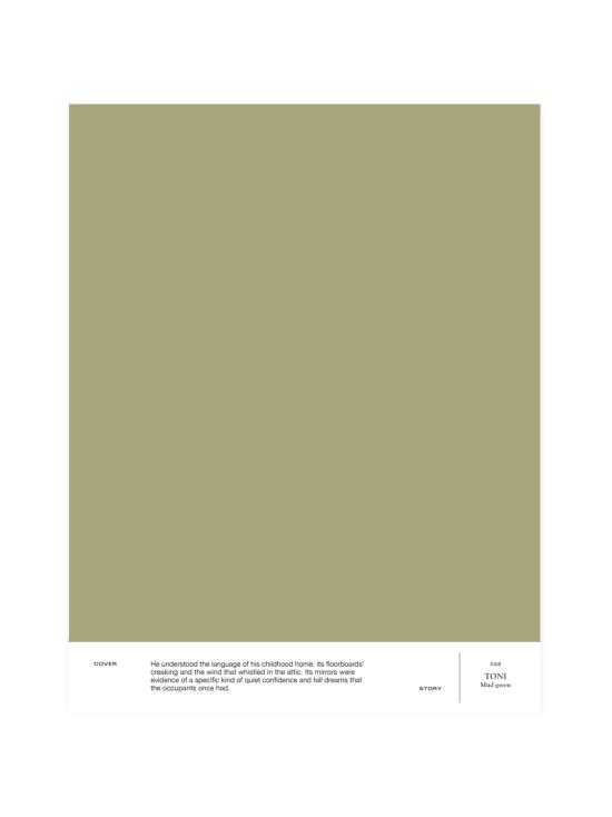 Cover Story - Sävymalli 028 TONI - mud green   Stockmann - photo 1