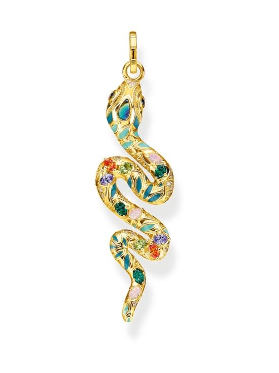 Thomas Sabo - Thomas Sabo Pendant bright golden-coloured snake -riipus | Stockmann - photo 1