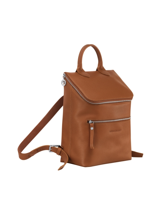 Longchamp - Le Foulonné Backpack - Reppu - CARAMEL   Stockmann - photo 2